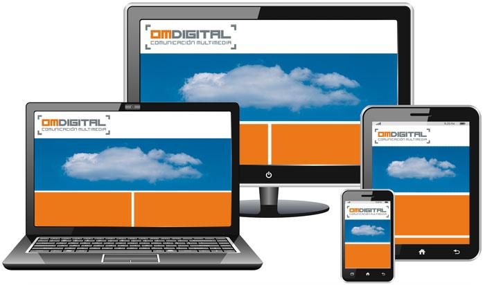 Diseño Web Móstoles - OmDigital Comunicación Multimedia