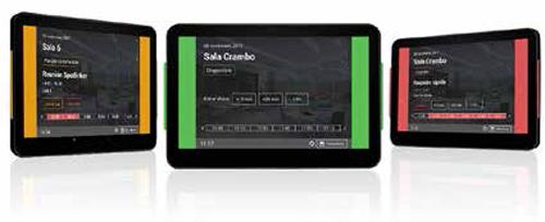 pantalla reserva de salas OmDigital Soluciones Audiovisuales