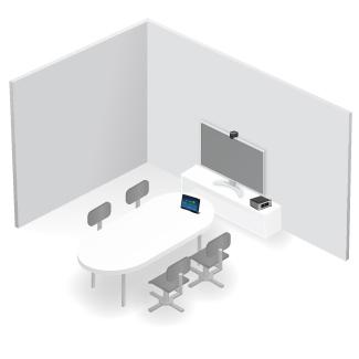 Videoconferencia en sala pequeña OmDigital