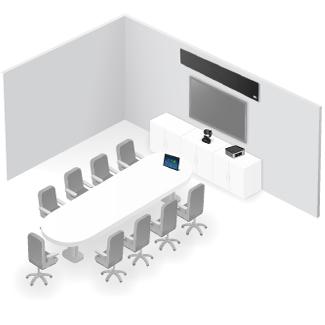 Videoconferencia en sala polivalente OmDigital Soluciones Audiovisuales