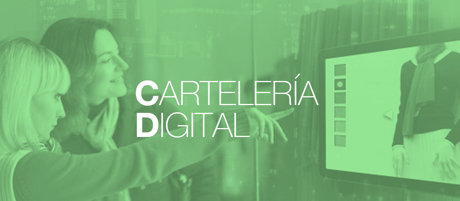 Cartelería Digital Madrid. OmDigital servicio integral.