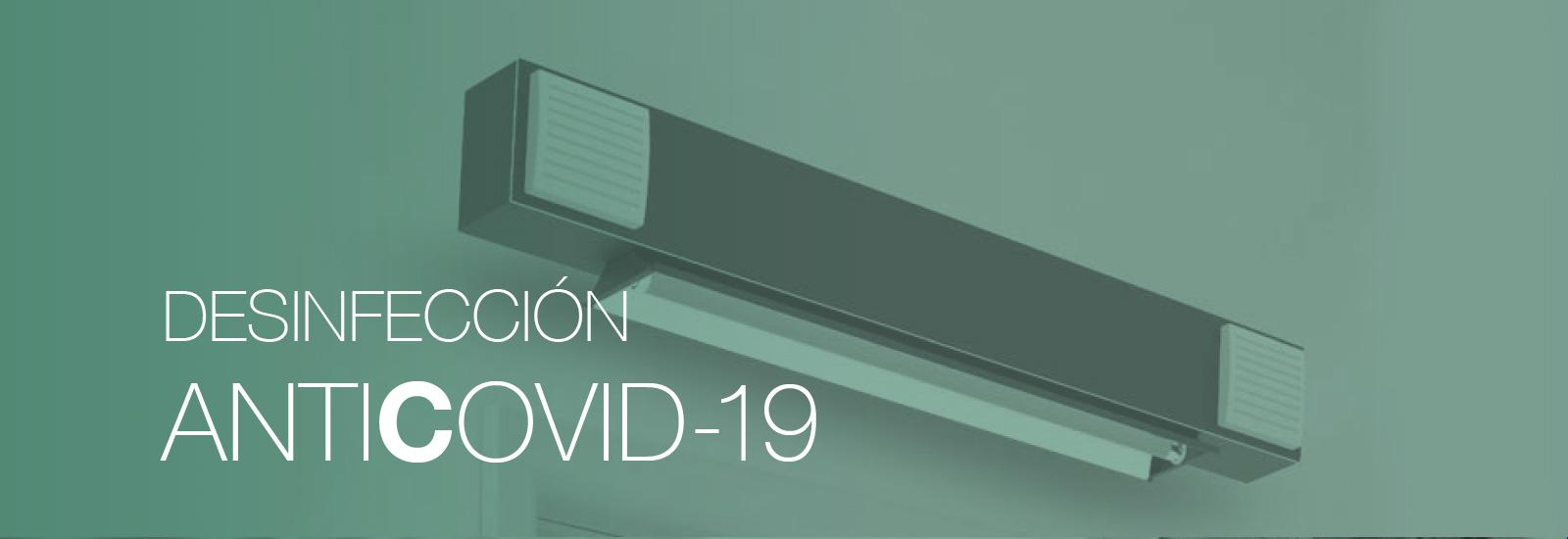 Soluciones tecnológicas desinfección anti Covid-19