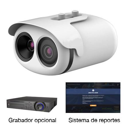 Kit de cámara termográfica. OmDigital Soluciones Audiovisuales