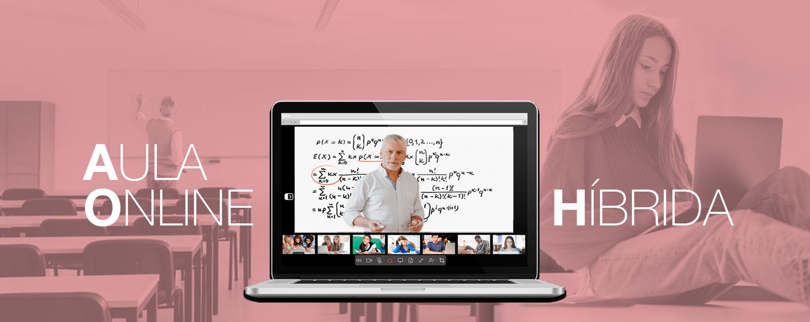 Aula online hibrida OmDigital Soluciones Audiovisuales